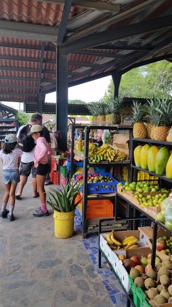 le marché de El Valle de Anton