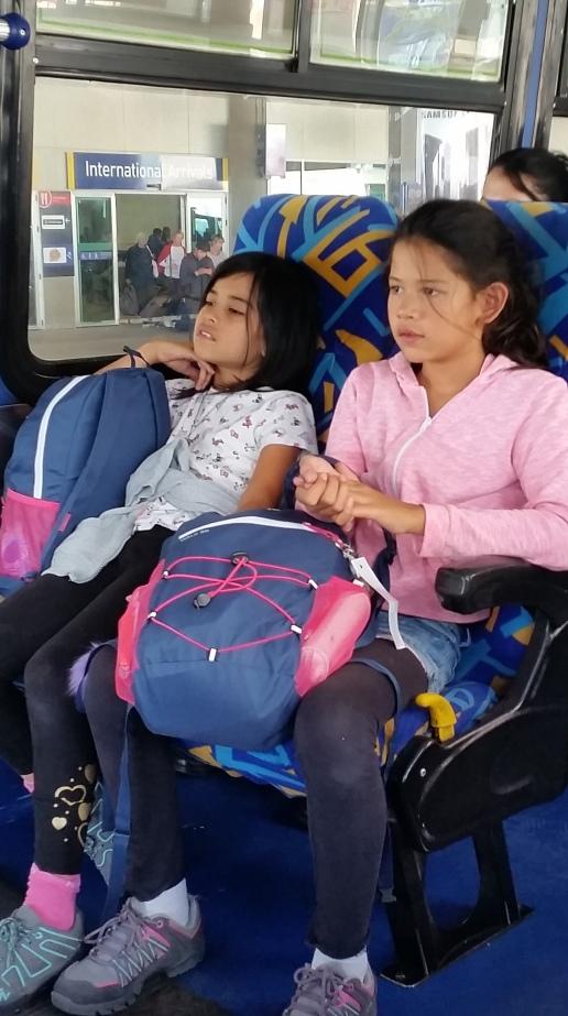 bus ride to Rio Coca